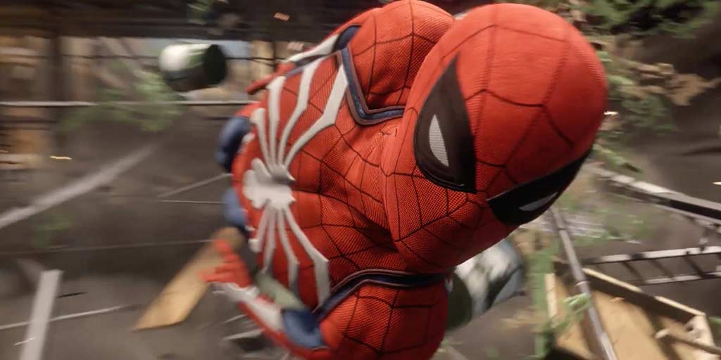 spider-man gameplay ps4