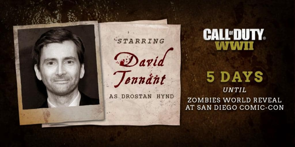 Call of Duty WWII Zombie Mode Full Cast Revealed