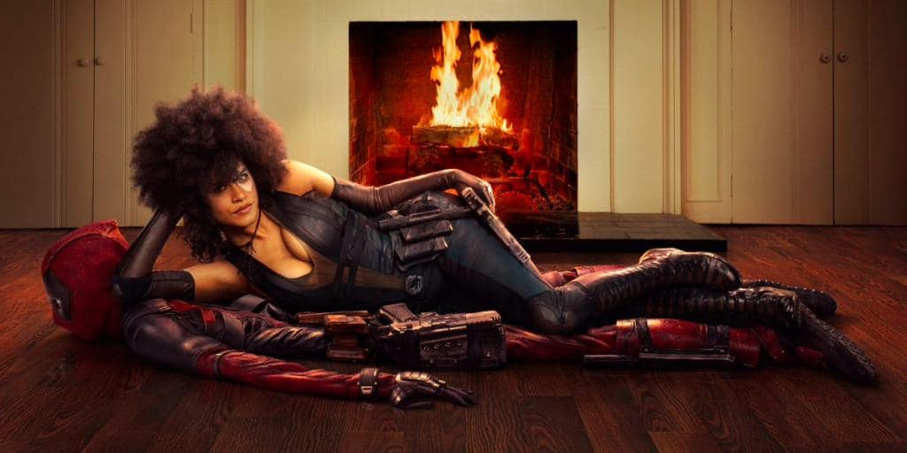 Deadpool 2 Domino Enters The Stage