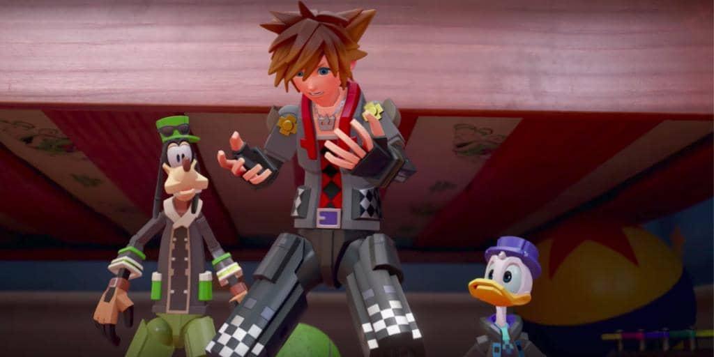 Kingdom Hearts III Trailer Goes To Toy Story
