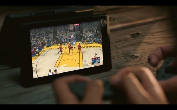 NBA 2k18 on Switch