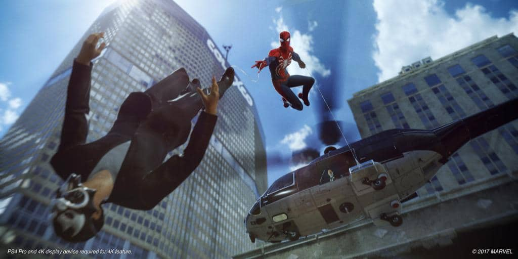 Spider Man Ps4 Will Encourage Dynamic Gameplay Nerd Much