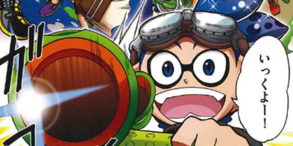 Splatoon Will Have An Anime Spin-Off