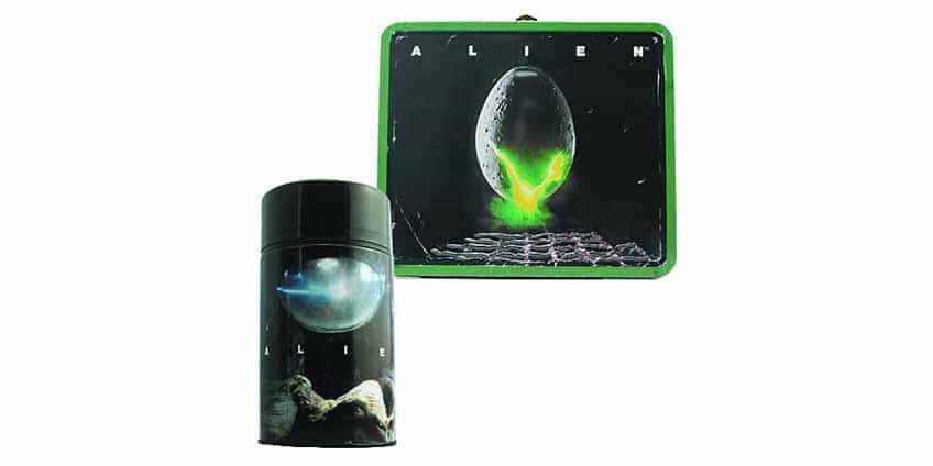Alien Lunch Box w/ Thermos