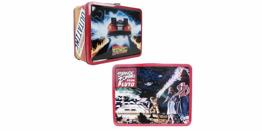 Back to the Future Retro Lunch Box