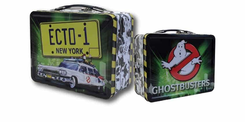 Ecto 1 Ghostbusters Lunch Box