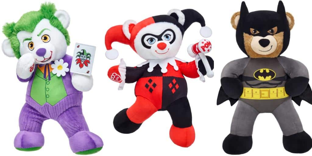 Build-A-Bear Unveils Joker and Harley Quinn
