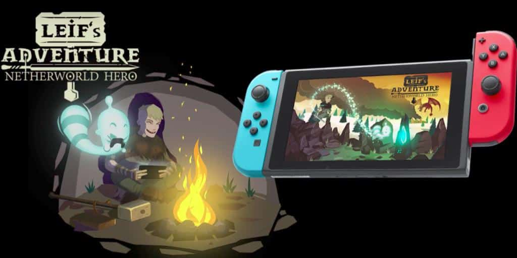 Leif's Adventure Is a Beautiful New Platformer for Nintendo Switch