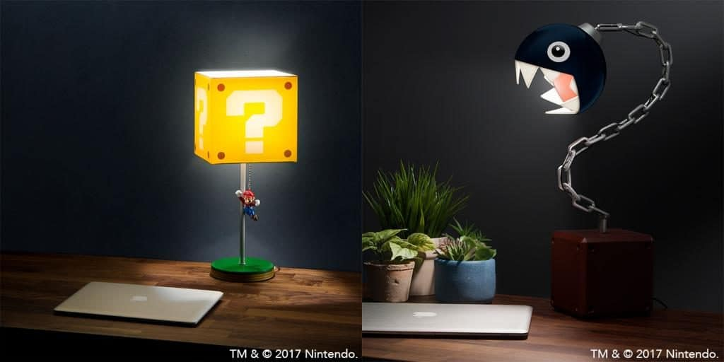Mario Themed Lamps Coming Mid December