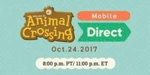 Nintendo Direct Animal Crossing