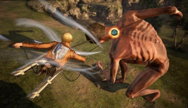 Attack on Titan 2 Combat Details