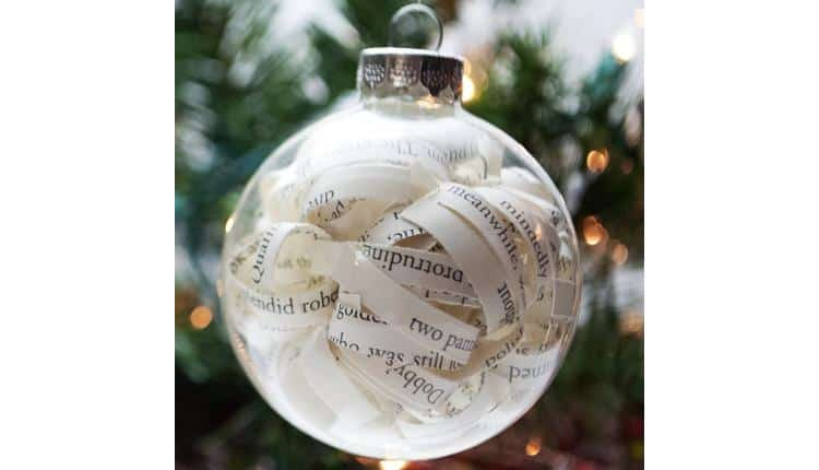 Paper Strips Bauble