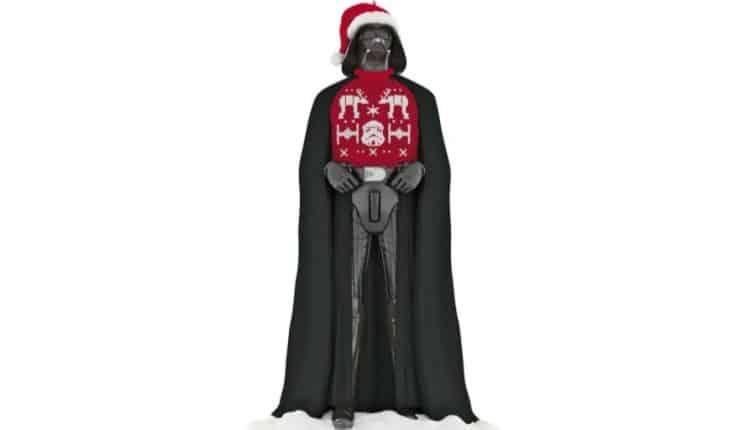 Christmas Darth Vader Ornament