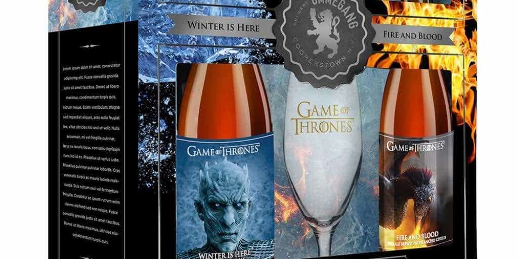 Game of Thrones Beer - Winter is Here