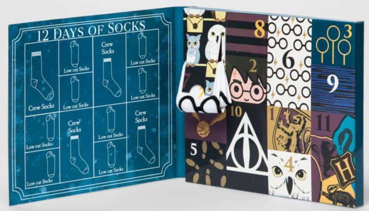 731b1dcb9ded0 Harry Potter 12 Days of Socks Set | Nerd Much?