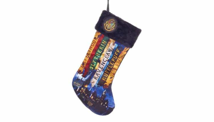 Hogwarts House Banner Stocking