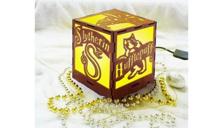 Hogwarts House Light Box