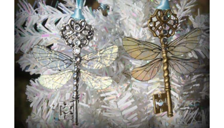 Winged Keys Ornaments