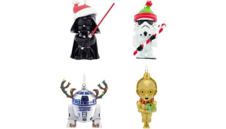 Set of 4 Chibi Ornaments