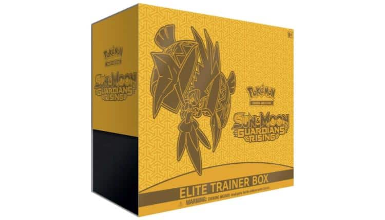 Pokèmon TCG Sun & Moon-Guardians Rising Elite Trainer Box