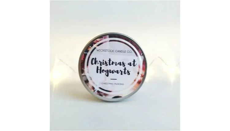 Christmas at Hogwarts Candle