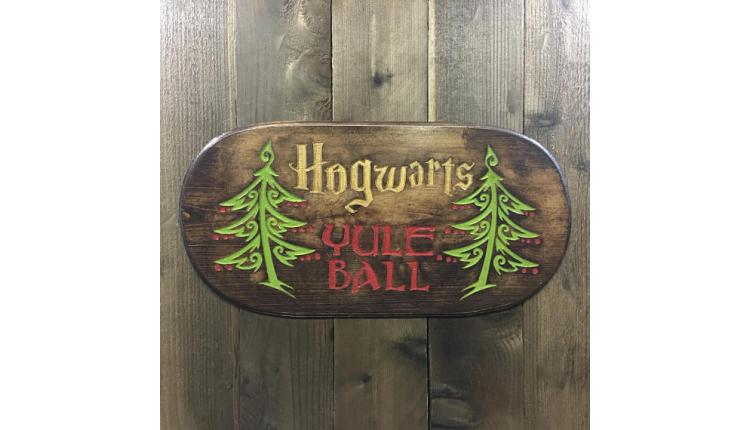 Yule Ball Sign
