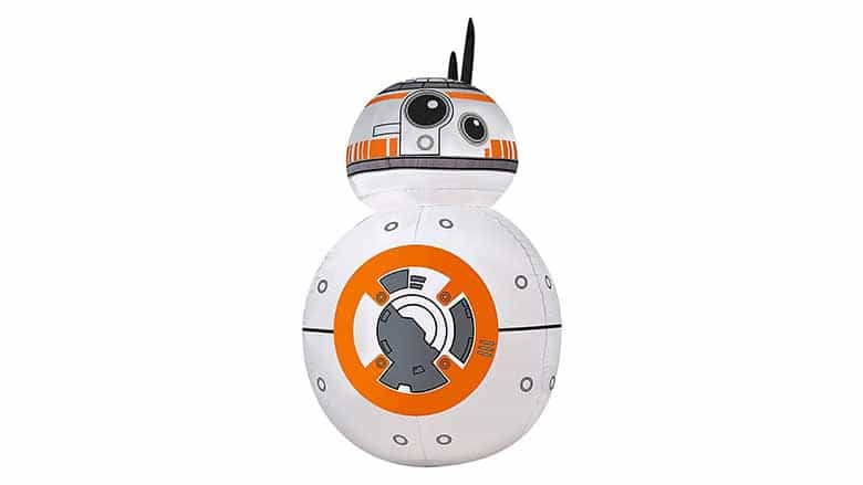 bb-8 inflatable lawn ornament