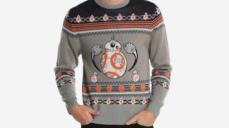 Star Wars BB-8 Ugly Holiday Sweater