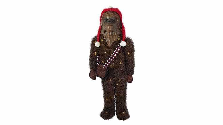 chewbacca christmas lawn ornament