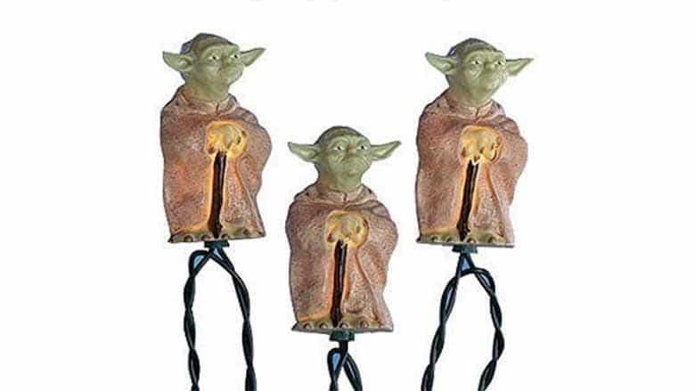 classic yoda christmas lights