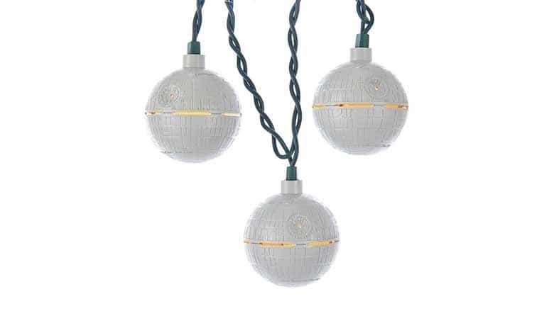 death star christmas lights