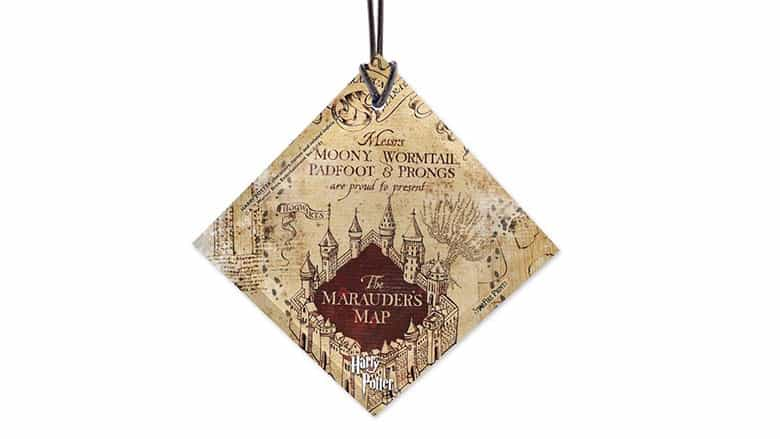 Trend Setters Harry Potter Marauders Map Ornament
