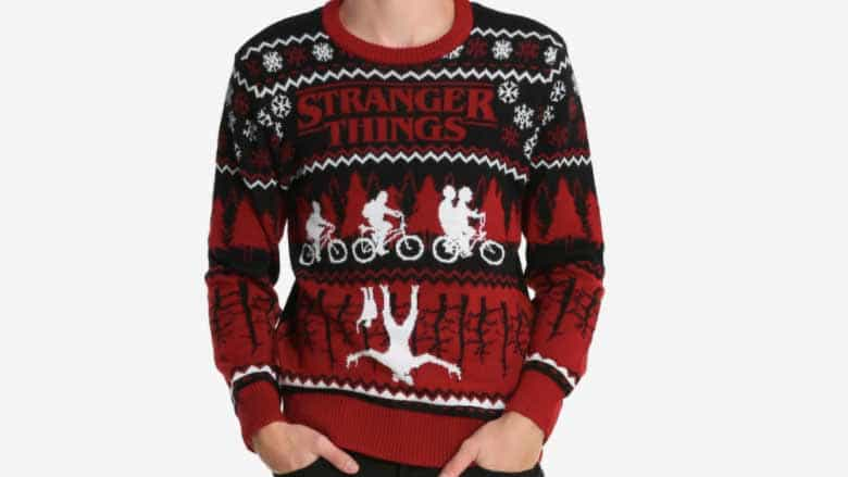 Stranger Things sweater
