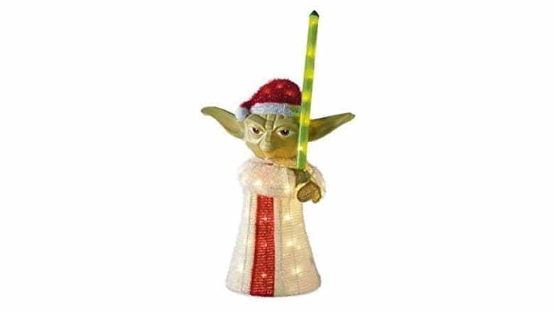 yoda lawn ornament
