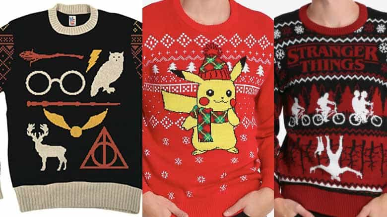 3e655be9 31 Nerdy Ugly Christmas Sweaters: The Ultimate List (2019) | Nerd Much?