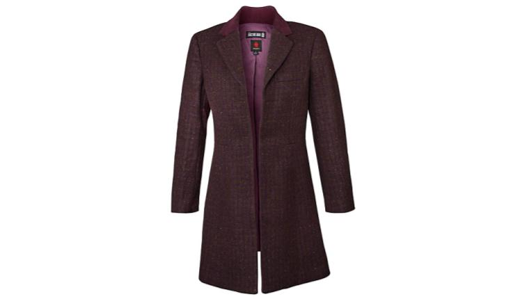 Doctor Who 11th Doctor Ladies' Peacoat