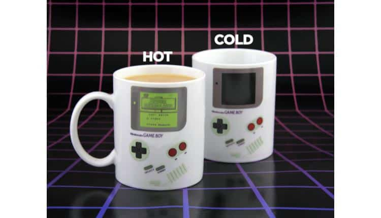Nintendo Game Boy Classic Heat-Changing Mug