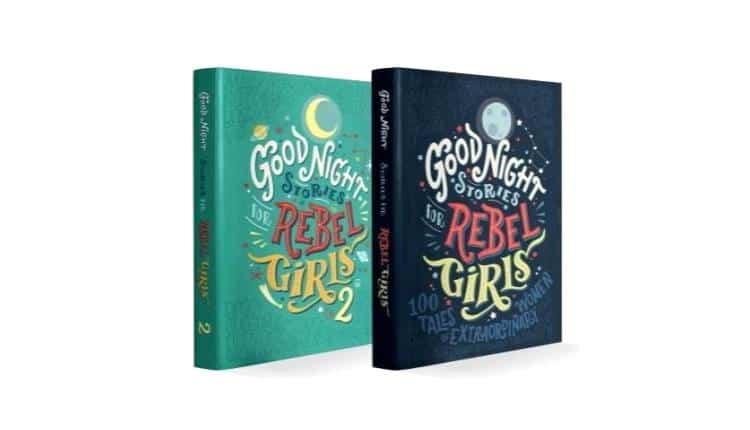 Good Night Stories for Rebel Girls Box Set – $65.00