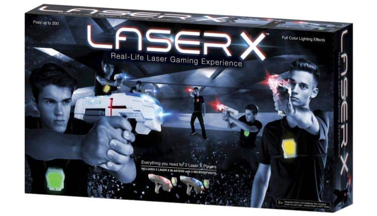 73 LASER X Two Player Laser Tag Gaming Set 4999