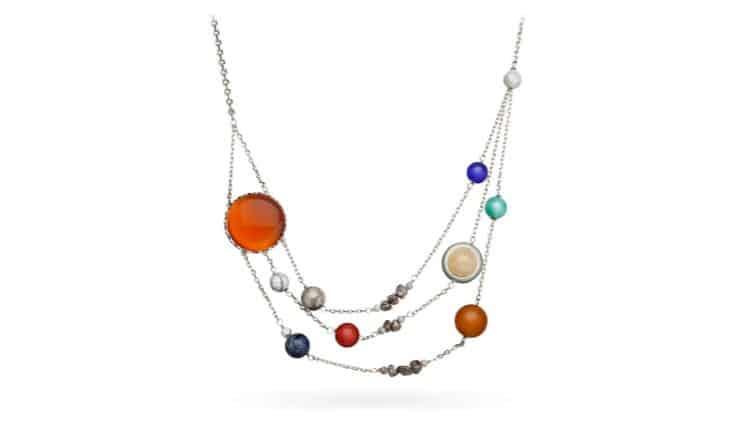 Solar Orbit Necklace – $39.99