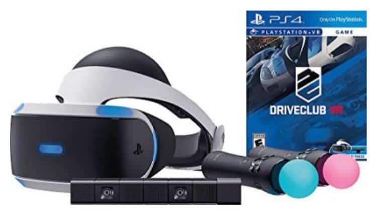 Sony PlayStation VR DriveClub Starter Bundle – $477.44