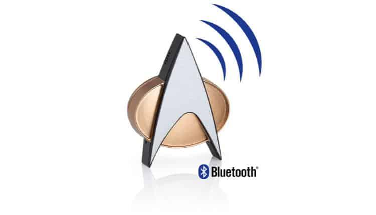 Star Trek TNG Bluetooth ComBadge – $69.95