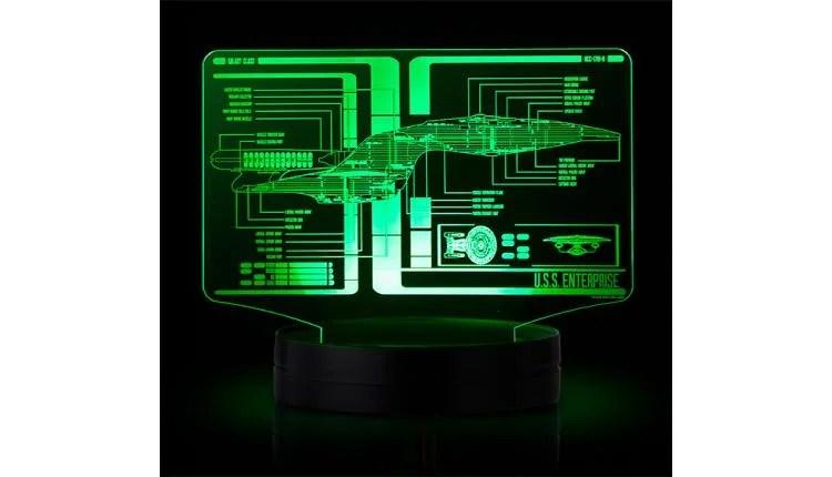 Star Trek Schematic Illuminated LED Display – $39.99