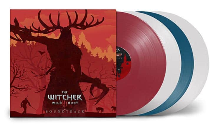 The Witcher 3 Original Game Soundtrack 4LP Collection – $54.99