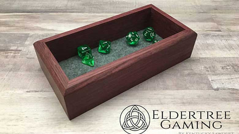 Eldertree Handmade Dice Tray