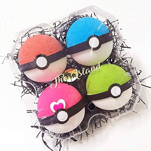 pokemon bath bombs