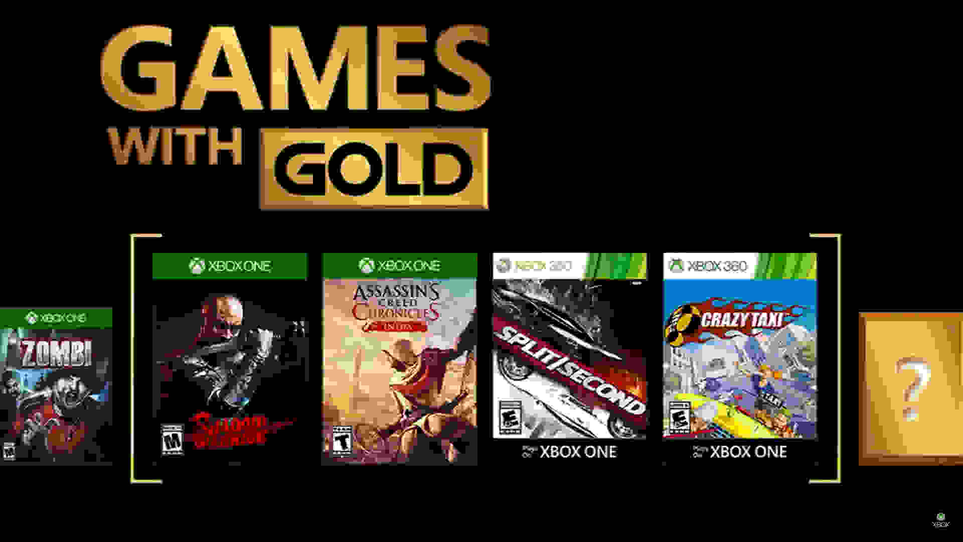 Games with Gold - February