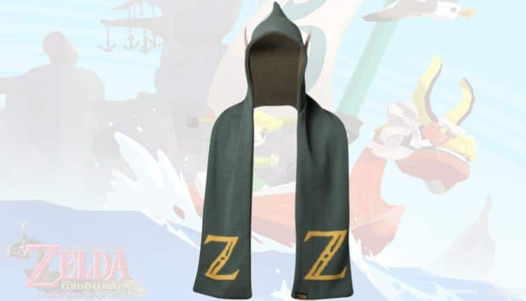 Zelda Hooded Scarf With Ears