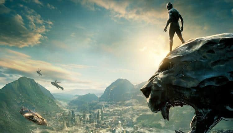 Promotional image from Black Panther movie