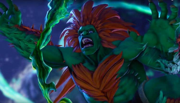 Blanka Coming to Street Fighter V: Arcade Edition February 20